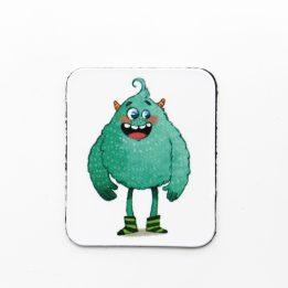 Magnet mascotte bleue Ouikili