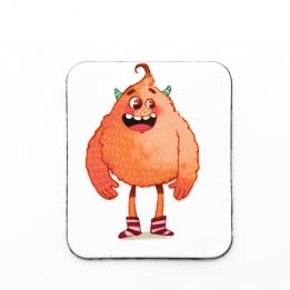 Magnet mascotte peche Ouikili