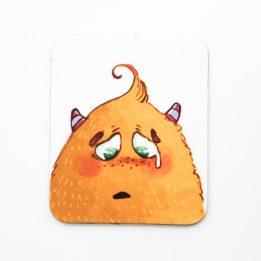 Magnet mascotte pleurs