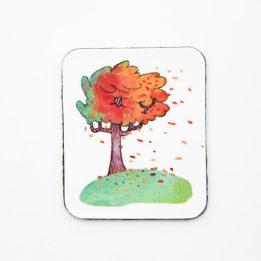 Magnet automne Ouikili