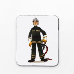 Magnet pompier Ouikili