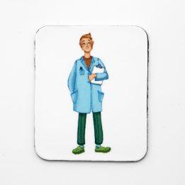 Magnet papa profession medicale Ouikili