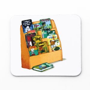 Magnet bibliothèque Ouikili