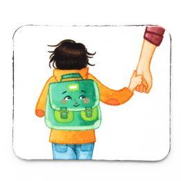 Magnet Ouikili départ à l'école