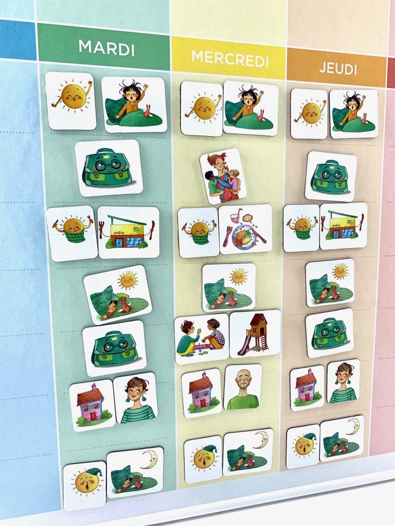 Faire Un Semainier semainier pour enfant archives - ouikili