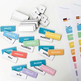 Date vierge DIY bilingue